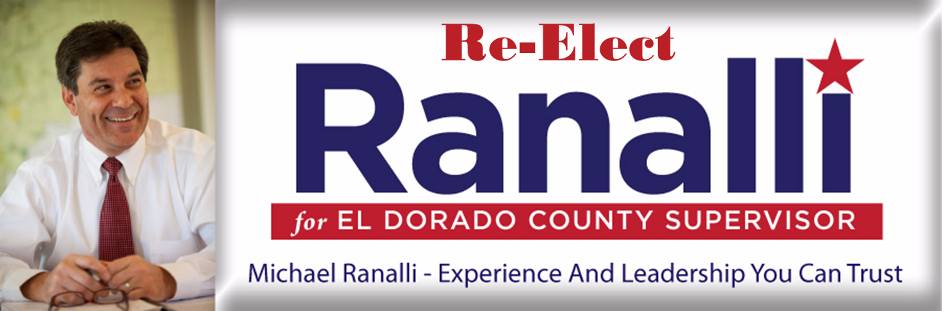 Michael Ranalli for El Dorado County Supervisor